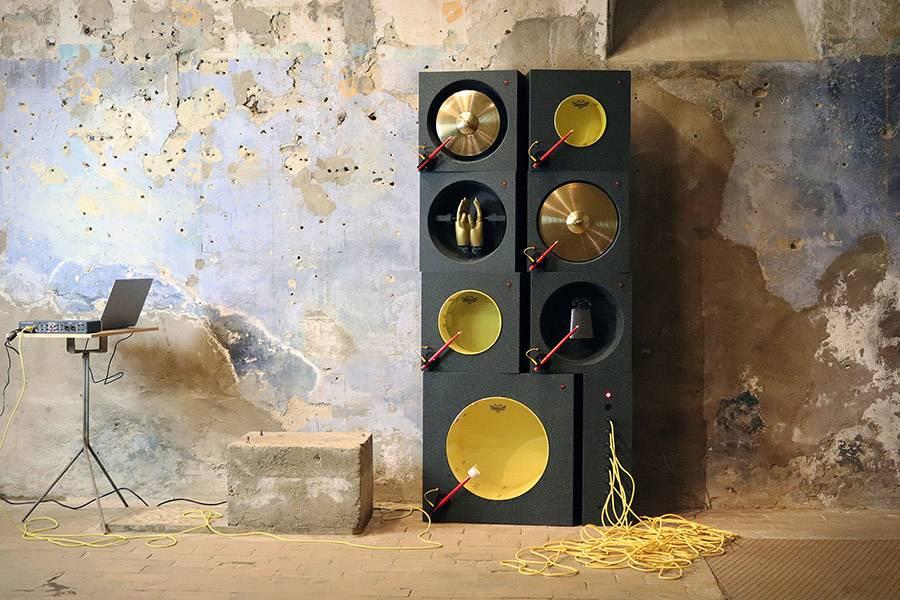 雕塑也能产生美妙音乐 Love Hulten带来最新趣味音乐实验