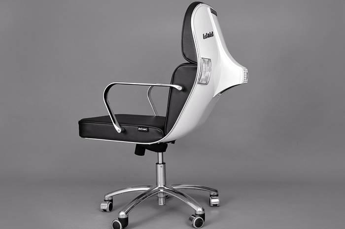 Vespa造型转椅 让你坐在经典之上