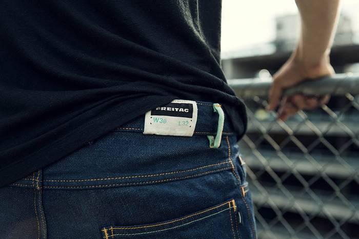 Freitag推出的可降解牛仔裤E500