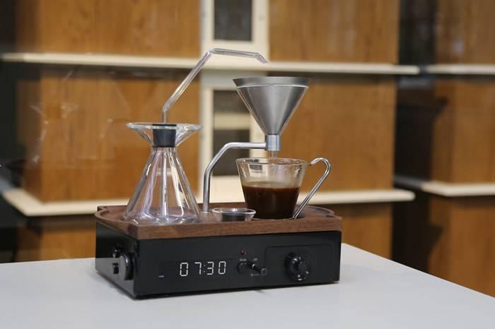 Barisieur:这是一款咖啡闹钟 通过香气叫你起床