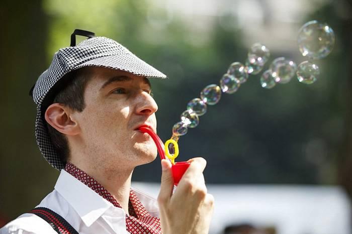 预告:英国最逗比的绅士运动会 The Chap Olympiad将于7月16日举行