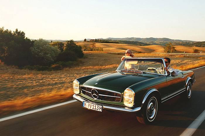 一辆老爷车 一段绝佳的旅程