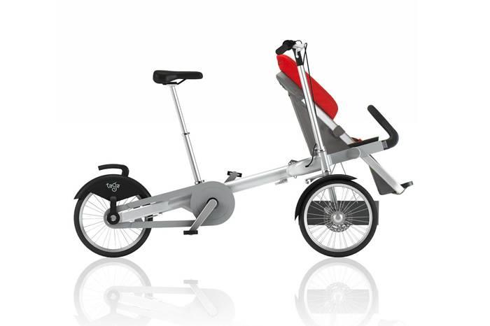 Taga亲子自行车 骑车遛小孩两不误