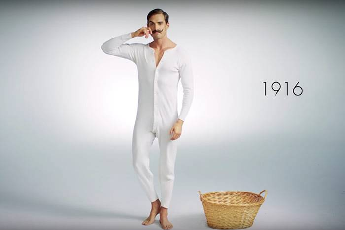 视频:三分钟看完男性内裤的百年变化