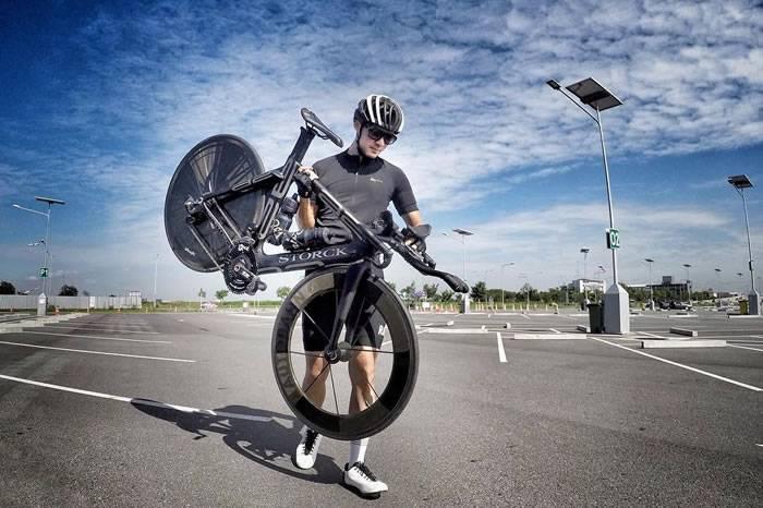 如果男人骑车都像他那么有格调 骑行圈里就不缺妹子了