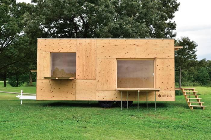 隈研吾为Snow Peak设计的住箱 打造以大自然为基础的移动的家