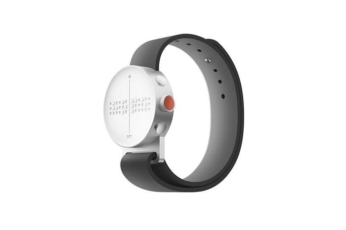 盲人的品质生活 DOT公司研发出首款盲文智能手表