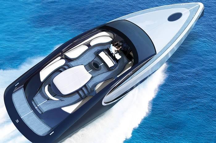 布加迪顶级奢华游艇内部细节图曝光 售价220万美元