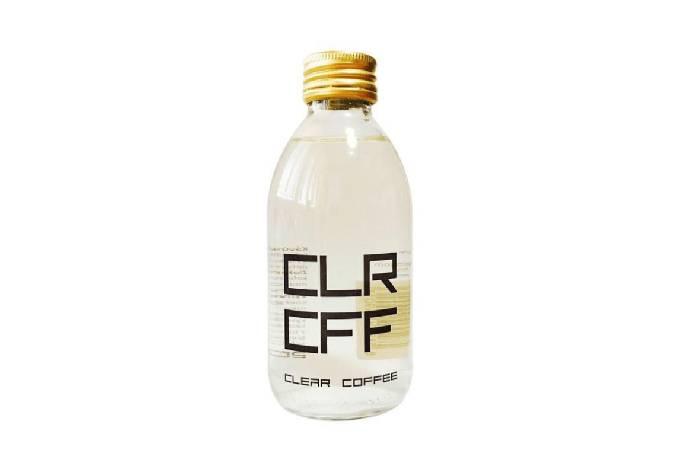 CLR CFF饮品公司推出全球首款透明咖啡