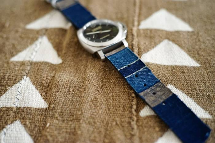 香港复古品牌Simple Union运用日本古布打造定制表带