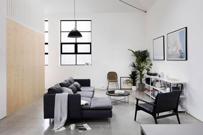 100个爱家的男人:英国建筑师为自己设计的极简之家