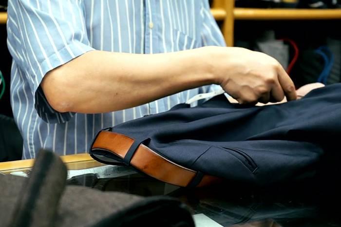 香港高级定制店铺Sam's Tailor 让你的西装24小时不变形