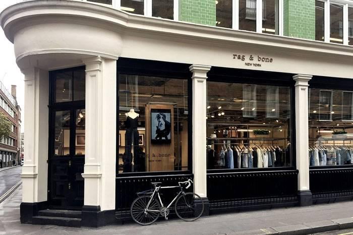 英国血统美国出生的品牌  Rag & Bone伦敦旗舰店