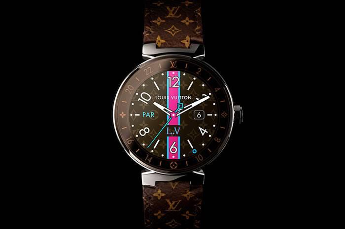 奢华品牌与科技联姻 Louis Vuitton推出首款智能腕表