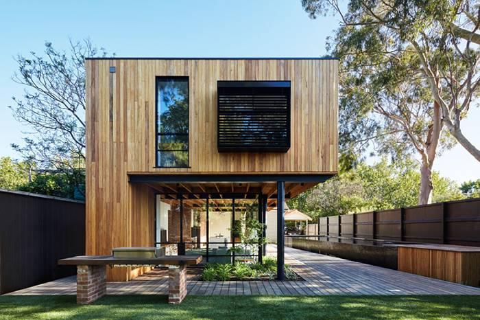 这家建筑工作室改造了墨尔本的这栋老宅 将现代与传统完美结合