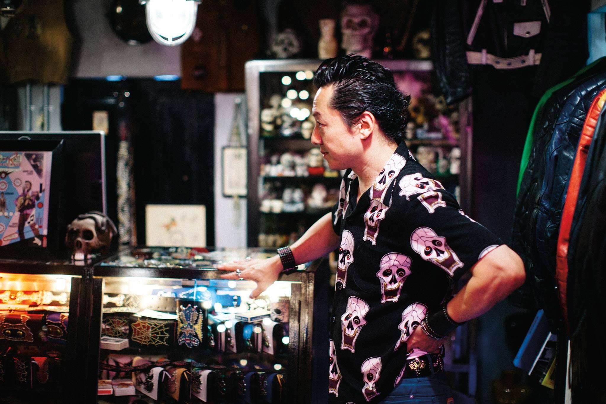 这个日本男人创办的私密古董店铺 每年只对10位客人开放