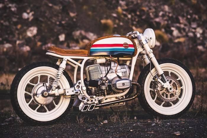 灵感来自BMX自行车 Hutchbilt定制改造的BMW复古摩托车