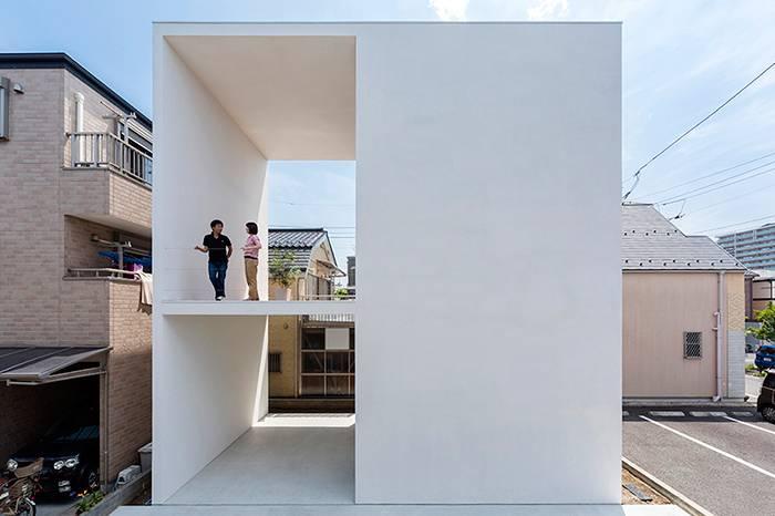 这个日本人将自己的家一分为二 从大胆的设计中找到惊喜