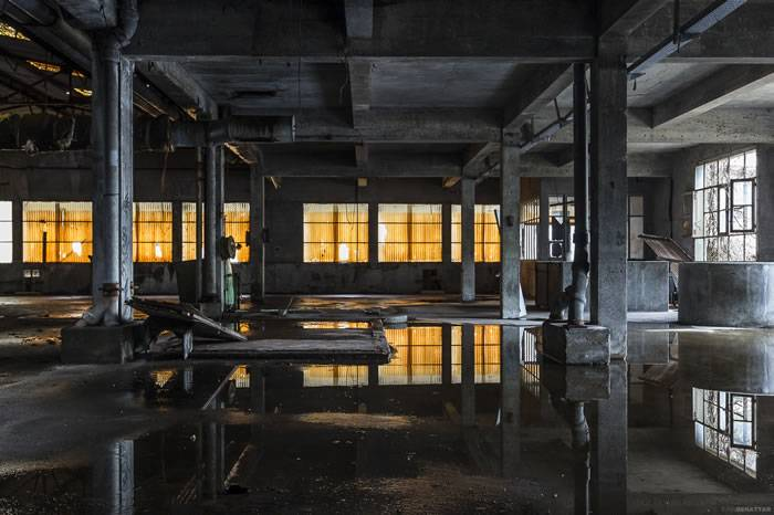 法国摄影师探险欧洲 拍摄各国废弃的工业空间