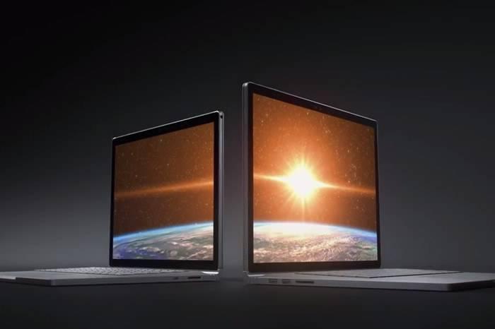 微软发布全新笔记本电脑 比MacBook Pro快了将近两倍