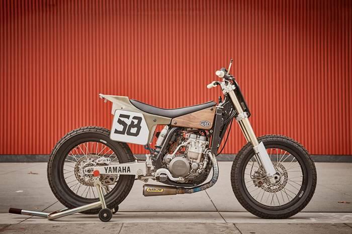 YAMAHA改装摩托车,从复古躺椅里冒出来的灵感