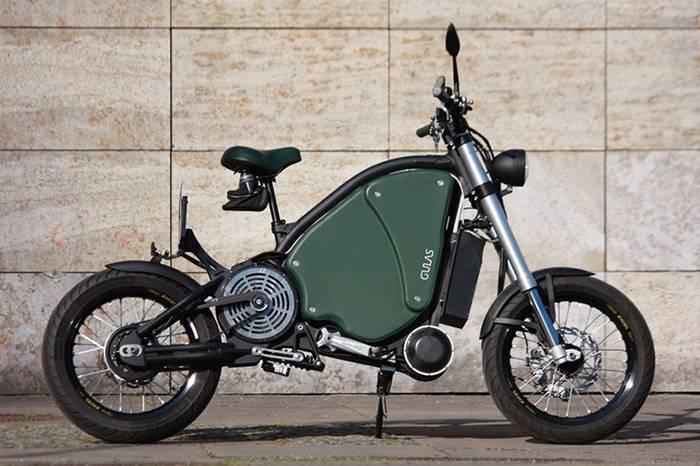 德国Gulas公司发布全球最快复古电动单车 时速最高可达115km/h