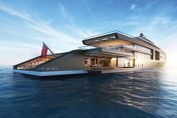 豪华程度远超铁达尼号!荷兰巨型游艇内置花园温泉