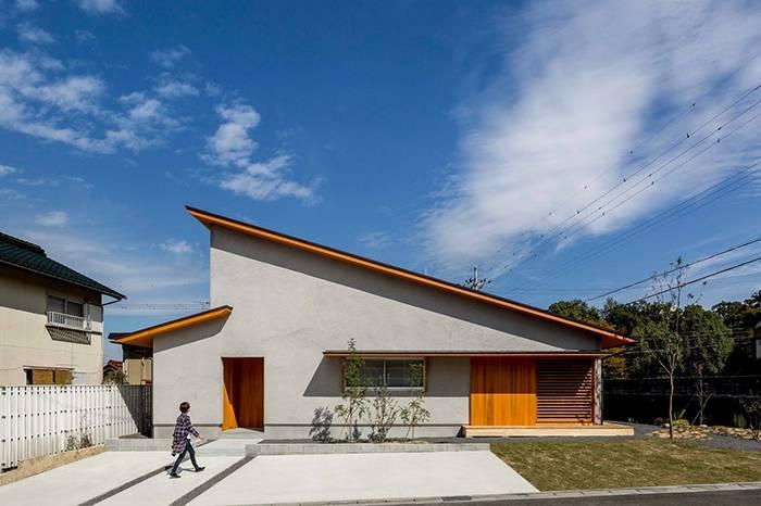 日本设计师打造129平米温馨私宅 体验屋檐下的极简空间