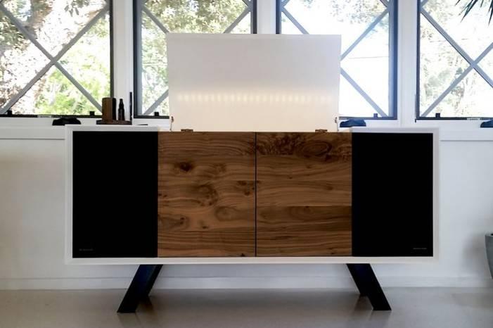 Wrensilva联合Sonos发布定制版黑胶唱片家具,营造高品质音乐生活方式