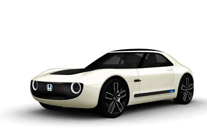 日本HONDA发布超可爱复古电动车型,实现人车智能对话