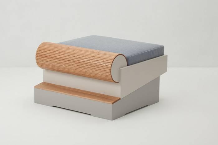 韩裔设计师打造全新家具系列,将整个滑板公园搬回家