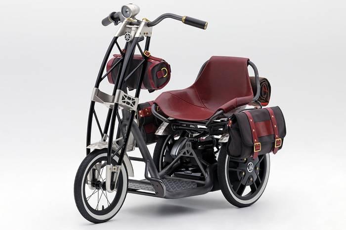 YAMAHA发布全新复古电动三轮代步车,谁说老年人不可以时髦