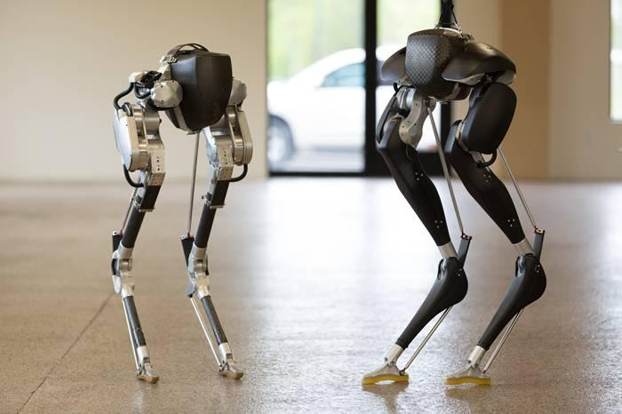 美国科技公司发明出双足行走机器人Cassie,人类未来的太空战友