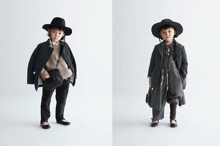 日本童装GRIS发布2017秋冬系列,当机能风格遇到无性别设计