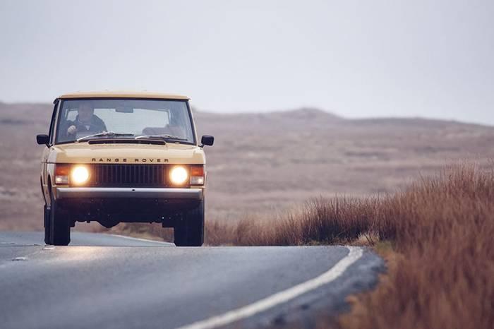Land Rover重新复刻1978年揽胜车型,让经典更为点睛