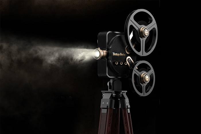 """坚果公司发布""""1895复古电影放映机"""",让你重回黄金电影年代"""