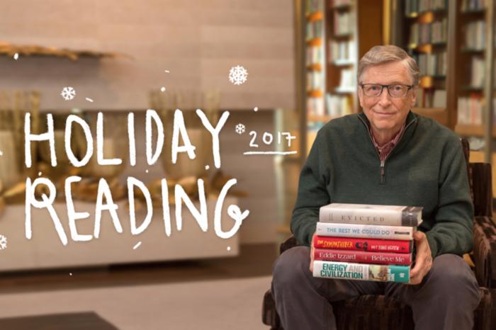 比尔盖茨圣诞节书单推荐,与世界首富读同一本书