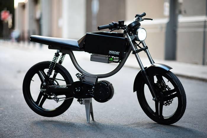 MONDAY MOTORBIKES打造全新科幻电动机车,解锁请输入密码