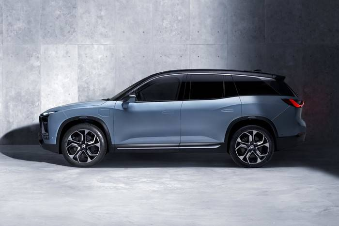 蔚来ES8正式上市,重启未来电动汽车生活新方式