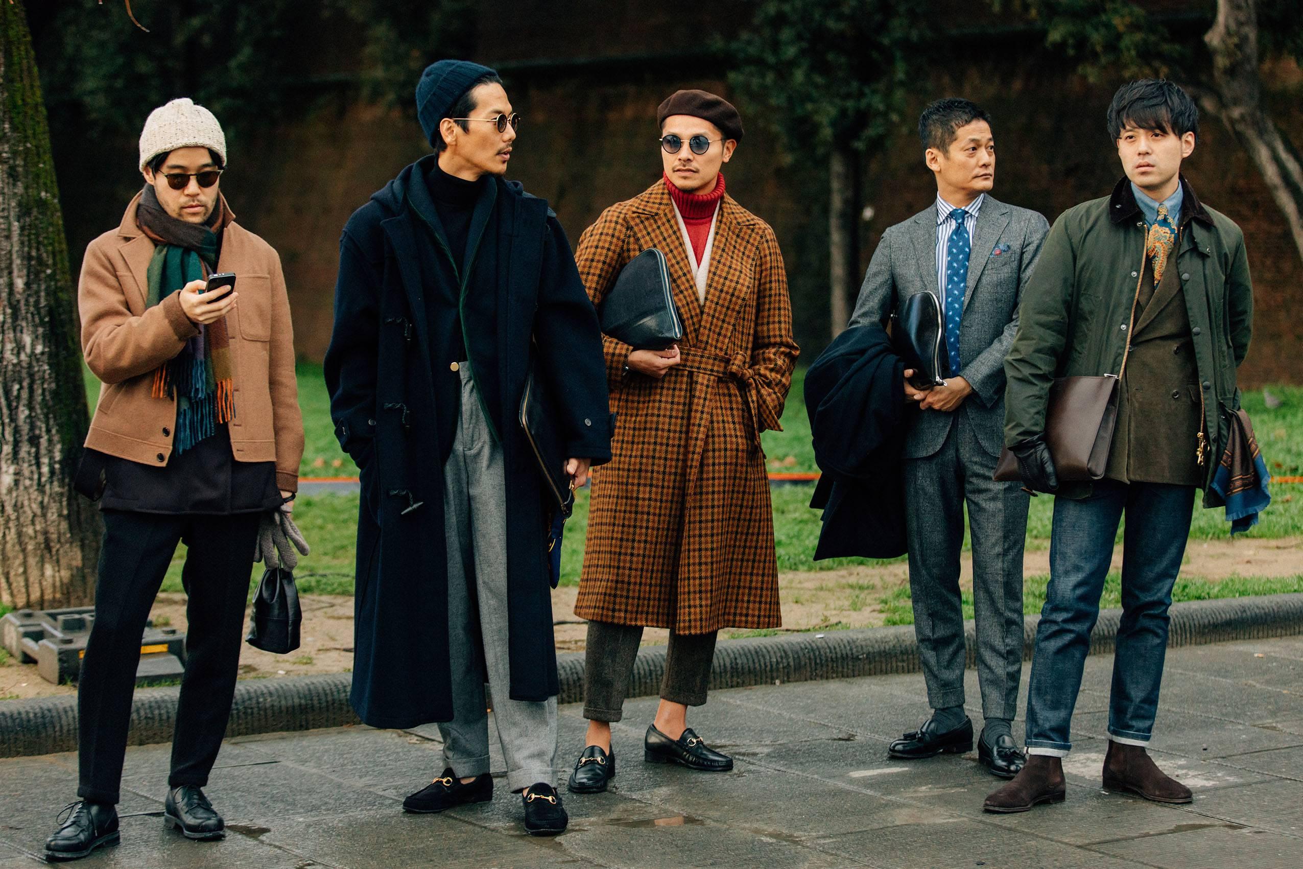 全世界的绅士们汇聚在一起 告诉你2018年应该怎么穿!