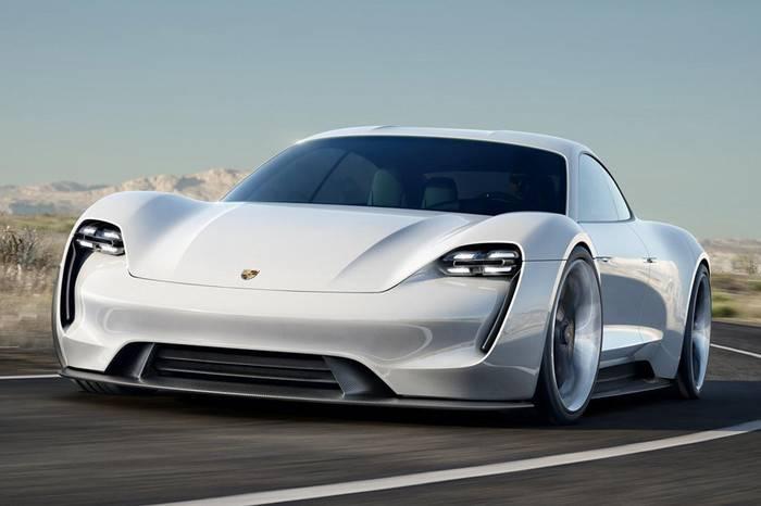 保时捷Mission E电动跑车计划明年上市,Tesla系列的最强宣战