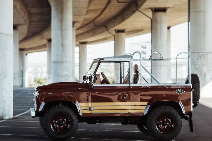 葡萄牙工作室打造Land Rover复古风格座驾,纯手工制作匠心独运