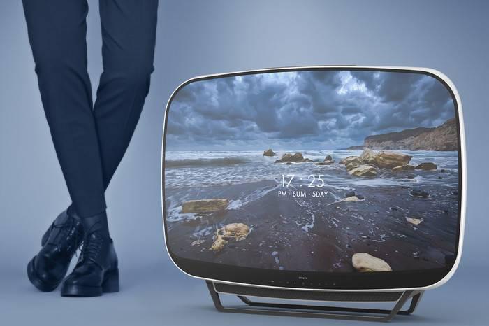 PDF Haus工作室以60年代复古家电为灵感,打造全新概念电视机