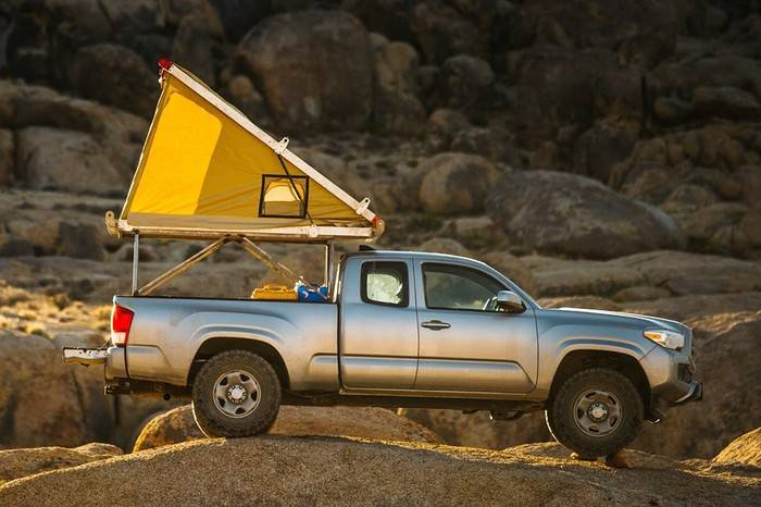 GO FAST CAMPERS发布自动弹出式帐篷,把户外最美风景留在当晚
