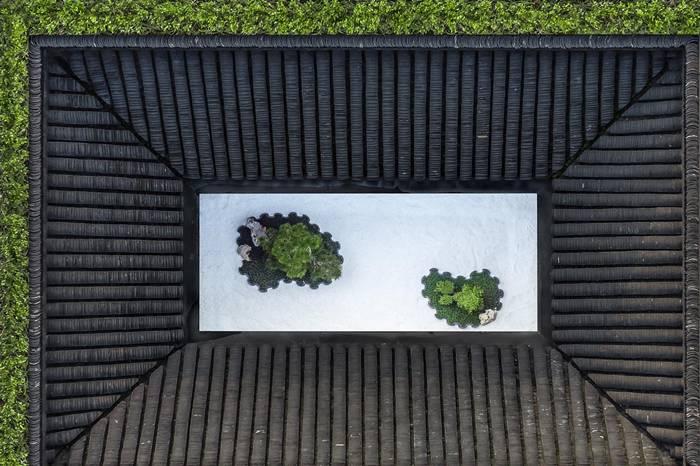 上海八分园美术馆,发光般存在的中式庭院设计