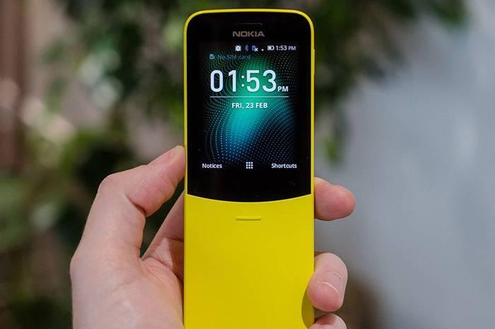 Nokia 8110 4G复刻版正式发布,香蕉配色搭配经典滑盖设计