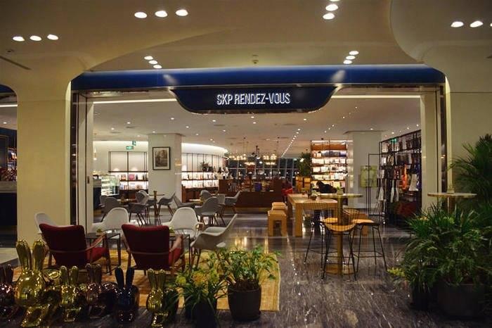 SKP RENDEZ-VOUS:北京一家集合书店、料理、生活好物的创意空间
