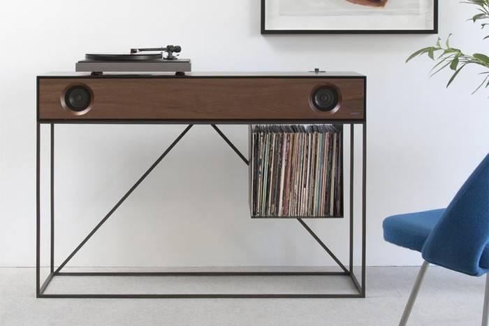 Symbol Audio打造黑胶音箱一体机,让音乐融入家居设计