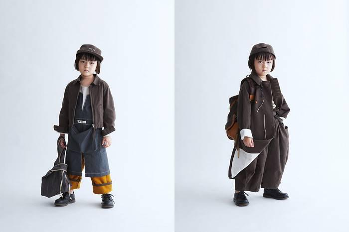 给宝宝选衣服:日本童装GRIS发布2018春夏系列,论父母如何跟孩子穿的一样酷
