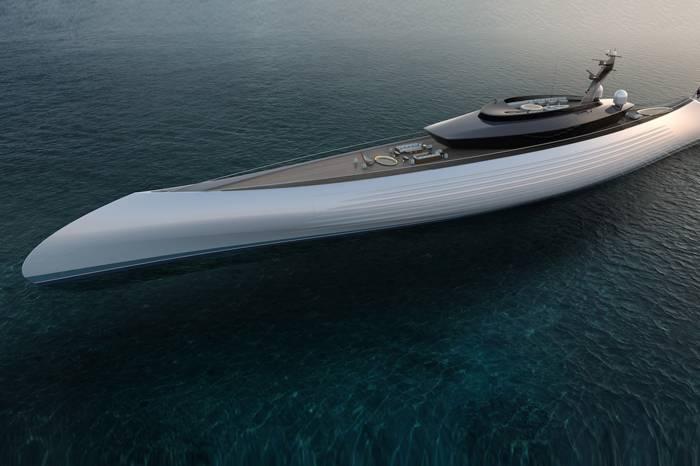 移动的海上奢华乐园,Oceanco公司打造115米长超级游艇